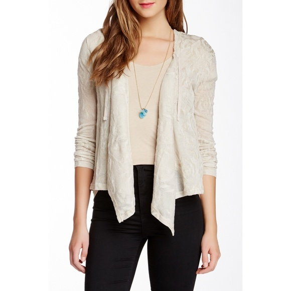 Wild Pearl Other - New Nordstrom Wild Pearl Juniors Hooded Cardigan